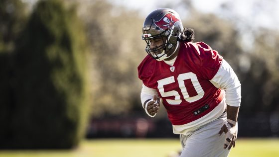 Vita Vea: I'm completely healed, otherwise I wouldn't be playing